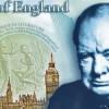 Churchill: Nueva imagen de los billetes de 5 libras