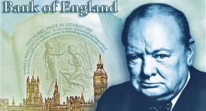Britain Bank of England Churchill
